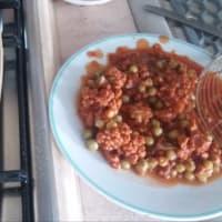 integrales con las jerarquías de salsa de carne paso 2