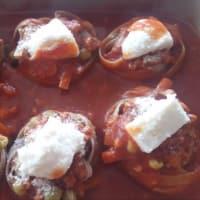 integrales con las jerarquías de salsa de carne paso 5