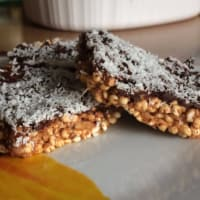 Blended rice energy bars