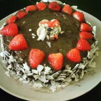 torta Quinoa con mousse di avocado