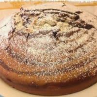 Cake variada de cacao y vainilla