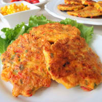 Chicken breast pancakes