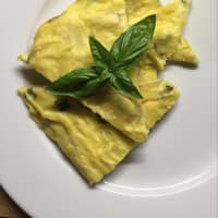 Potato Tortilla And Basil