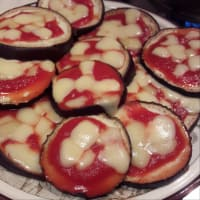 berenjena pizzette