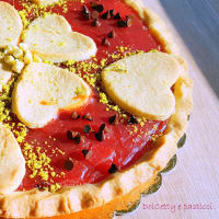 Crostata con gelo di anguria step 8