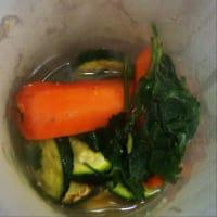 Pasta con zucchine e mazzancolle step 6