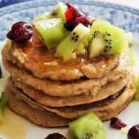 Pancakes vegani step 3