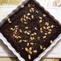 Brownie de porotos negros