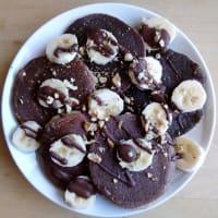Pancake Banana, Coconut Hazelnuts