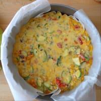 Tortilla con verduras y al horno ricotta paso 4