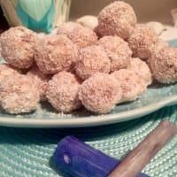 Tartufini de coco y nutella