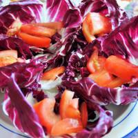 Radicchio con salmone e mozzarella step 2