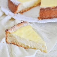 Soft Tart With Ricotta And Lemon