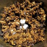 Galletas de maní choco con gemas de sal enteros paso 4