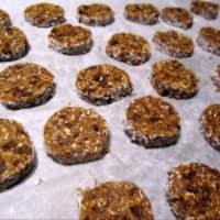 Galletas de maní choco con gemas de sal enteros paso 7