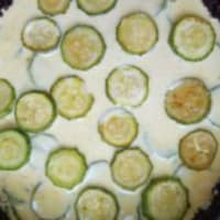 Roast rice tart with courgettes and curry yoghurt step 8