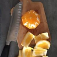 Las naranjas de Piera abuela paso 1