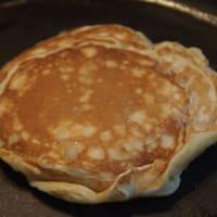 Pancake con confettura alle pere step 4
