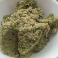 vegetariana Falafel paso 1