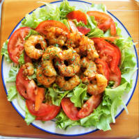Frozen salad with shrimp step 4