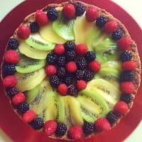 Crostata Di Farro Alla Frutta senza lattosio