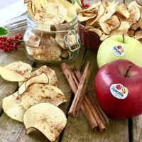 canela chips de manzana paso 1