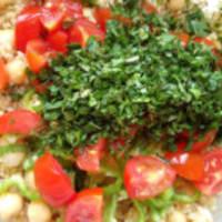 Ensalada de quinoa y garbanzos paso 7