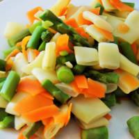 Insalata di pasta orecchiette vegetariana step 1