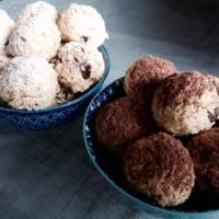 Galletas con virutas de coco y chocolate para el aroma de naranja paso 9