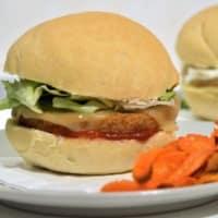 Light burger sandwiches