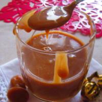 Soft Salsa Receta Caramel En astuto con ingredientes 2