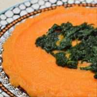 sopa de crema de zanahoria con romero