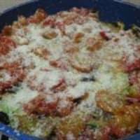Receta de calabacín parmesano en la sartén y bresaola robiola paso 6