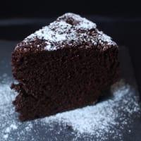 pastel de chocolate sin huevo