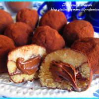 Tartufini Al Tiramisù Con Cuore Di Nutella