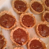 Mini pastel de queso con Nutella