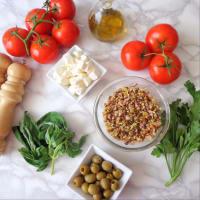 Pomodori ripieni di cereali, feta e olive step 1