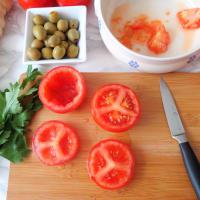 Pomodori ripieni di cereali, feta e olive step 2