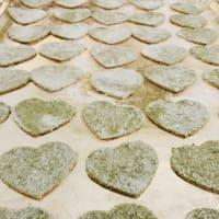 corazones de espinacas