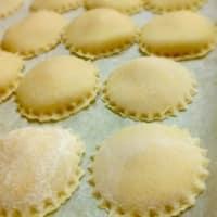 Raviolis de calabaza y queso ricotta paso 12