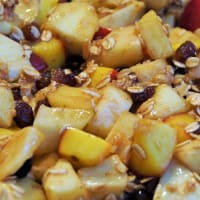 Granola fruta fresca paso 2