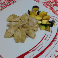 Coconut Chicken With Zucchini ...