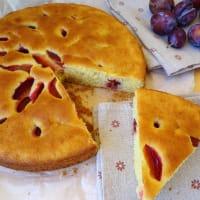 Glutenfree plum cake