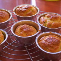 avellanas para muffins y gorgonzola paso 1