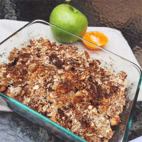 Crumble de manzana