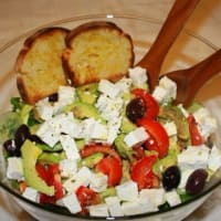 Greek salad to Italian