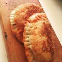 Empanada frita de pino picante