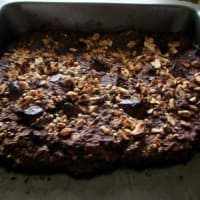 Brownies de Zapallito Italiano paso 4