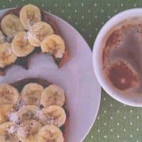 tostadas de plátano