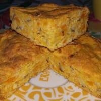 pastel de la luz con las zanahorias y almendras con vainilla